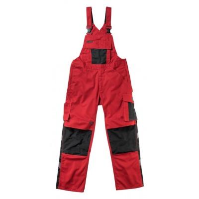 Foto van Mascot Augsburg amerikaanse overall rood/zwart | 12169-442