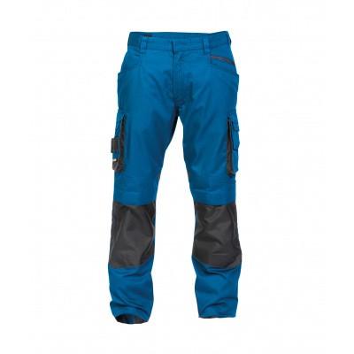 Foto van Dassy stretch broek NOVA | 200846 | azuurblauw/antracietgrijs