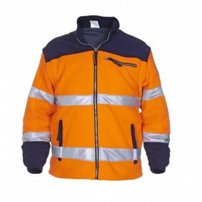 Hydrowear Feldkirchen fleecejack EN471 | 04026006F-141 | oranje/marine
