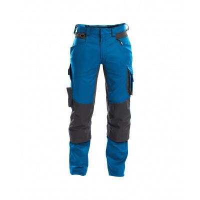Dassy stretch broek DYNAX | 200980 | azuurblauw/antracietgrijs