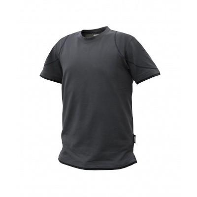 Dassy t-shirt KINETIC | 710019 | antracietgrijs/zwart