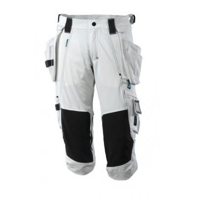 Foto van Length Trousers, holster pockets, str. Wit