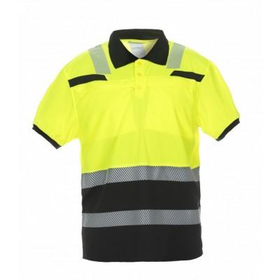 Hydrowear Thorne poloshirt EN471 | 040445-149 | oranje/zwart