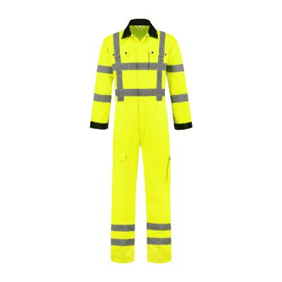 Foto van Bestex Overall RWS geel 80% polyester/20% katoen| OVRWS8020 | 017-geel