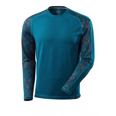 T-shirt met lange mouwen,vochtafdrijvend | 17281-944 | 044-donkerpetrol