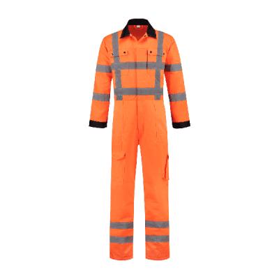 Foto van Overall RWS oranje 80% polyester/20% katoen| OVRWS8020 | 014-oranje