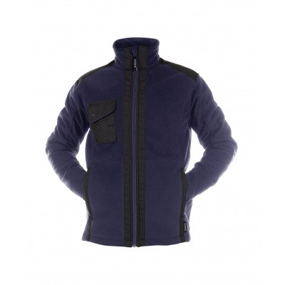 Dassy fleece CROFT | 300319 | nachtblauw/zwart
