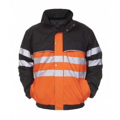 Hydrowear Norwich pilotjack EN471 | 017385-149 | oranje/zwart