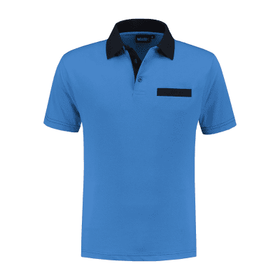 Indushirt PS 200 Polo-shirt korenblauw-marine