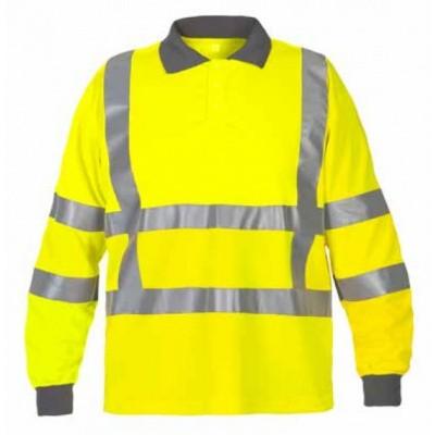 Foto van Hydrowear Ter Apel sweatshirt rws | 040415-17 | geel