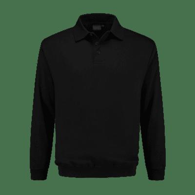 Foto van Indushirt PSO 300 (OCS) Polosweater zwart