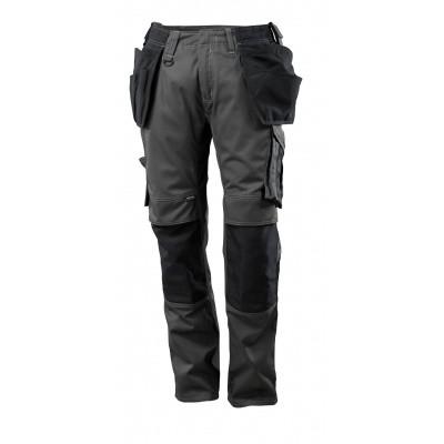 Foto van Broek met spijkerzakken, lichtgewicht | 17631-442 | 01809-donkerantraciet/zwart