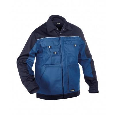 Dassy werkjack LUGANO | 300183 | korenblauw/marineblauw