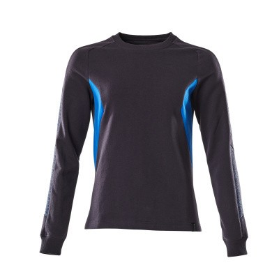 Mascot 18394-962 Sweatshirt donker marine/azur blauw