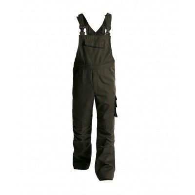 Dassy bretelbroek BOLT   400149   olijfgroen/zwart