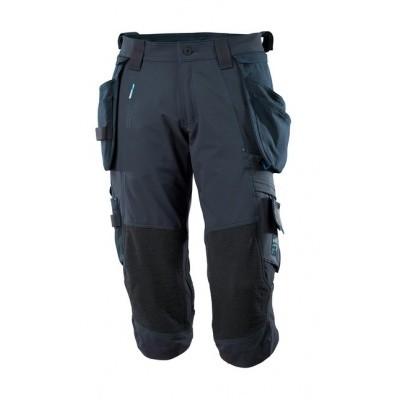 Foto van Length Trousers, holster pockets, str. Donker marine