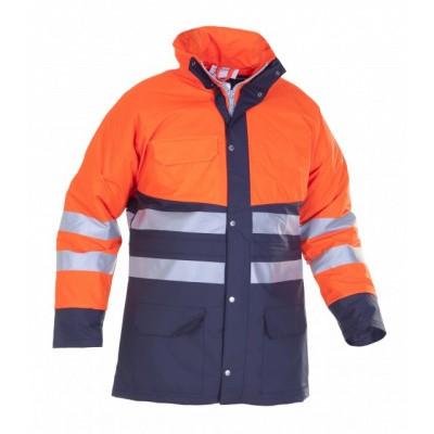 Hydrowear Plains Regenjas EN471   016880-141   oranje/marine