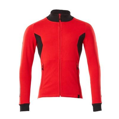 Foto van Mascot 18484-962 Sweatshirt met rits signaal rood/zwart