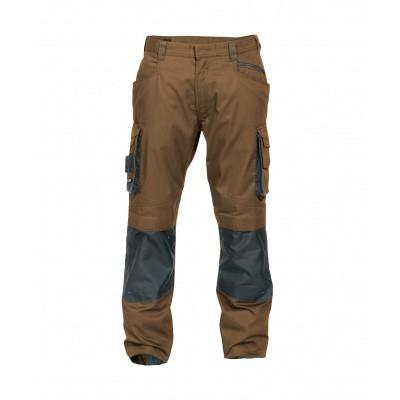 Foto van Dassy stretch broek NOVA | 200846 | leembruin/antracietgrijs