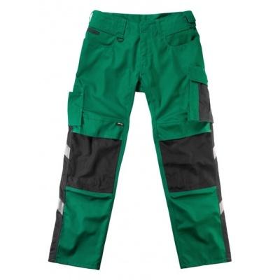 Mascot Mannheim werkbroek groen/zwart | 12679-442