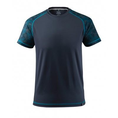 T-shirt, vochtafdrijvend,moderne pasvorm | 17482-944 | 010-donkermarine