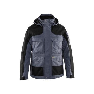 Blaklader 441419459599 winterparka, grijs/zwart, M