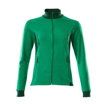 Mascot 18494-962 Sweatshirt met rits gras groen/groen