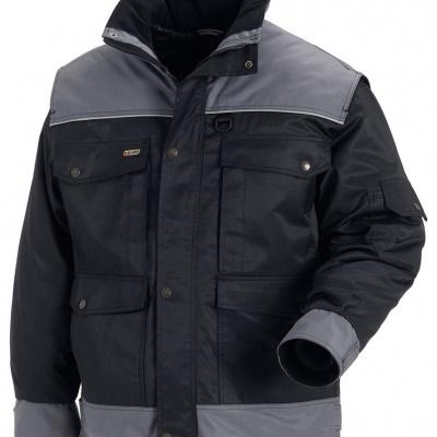 Blaklader 488519779994 Winterjas zwart/grijs, XL