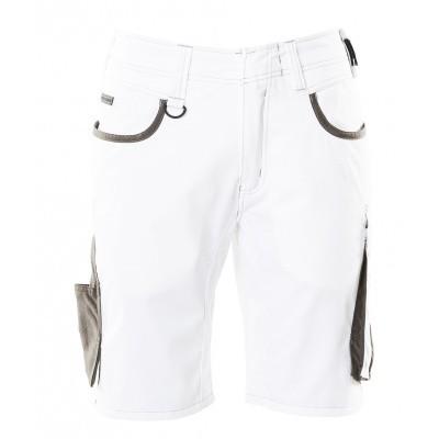 Foto van Shorts, lichtgewicht | 18349-230 | 0618-wit/donkerantraciet