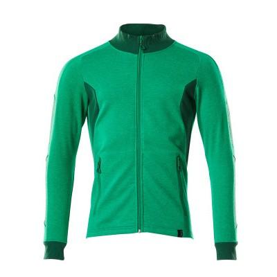 Mascot 18484-962 Sweatshirt met rits gras groen/groen