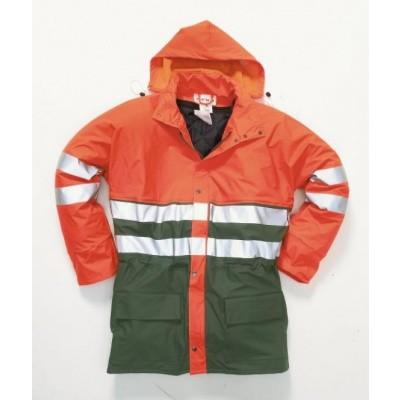 Hydrowear Plains Regenjas EN471 | 016880-143 | oranje/groen