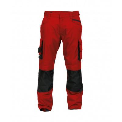 Foto van Dassy stretch broek NOVA | 200846 | rood/zwart