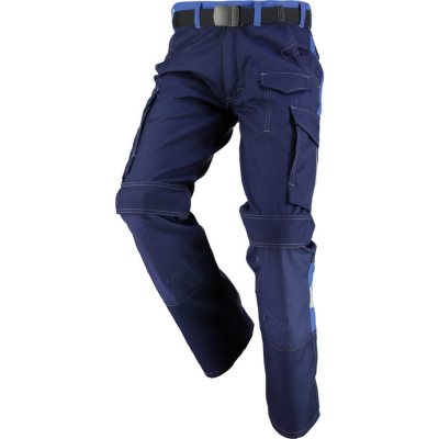 Orcon werkbroek Denis 58011, mt 54 marine/korenblauw