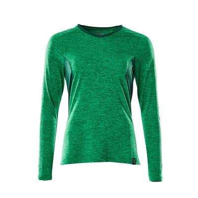 Mascot 18091-810 T-shirt, met lange mouwen gras groen/groen