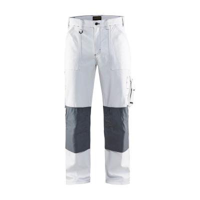 Blaklader werkbroek 1091-1210 wit/grijs, C50