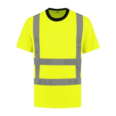 Foto van Bestex T-shirt RWS 100% polyester| TSRWS100 | 017-geel