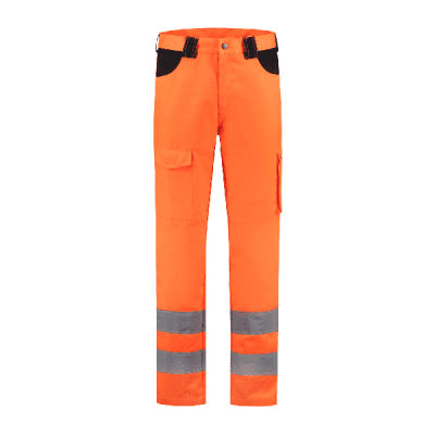 Foto van Werkbroek RWS oranje 80% polyester/20% katoen| WBCRWS8020 | 014-oranje