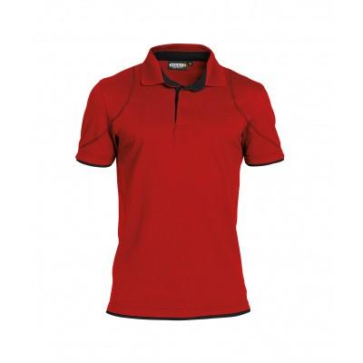 Dassy polo ORBITAL | 710011 | rood/zwart