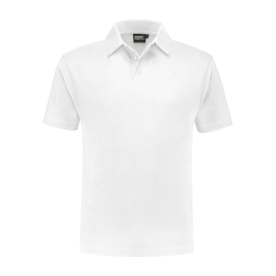 Foto van Indushirt PO 200 (OCS) Polo-shirt wit