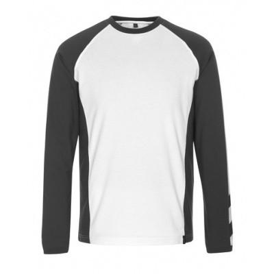 Mascot Bielefeld langemouwshirt | 50568-959 | 0618-wit/donkerantraciet