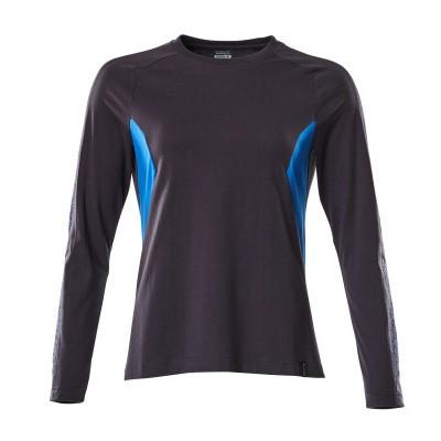 Foto van Mascot 18391-959 T-shirt, met lange mouwen donker marine/azur blauw