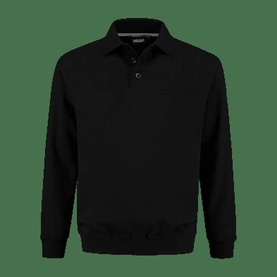 Foto van Indushirt PSW 300 Polosweater zwart