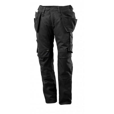 Foto van Broek met spijkerzakken, lichtgewicht | 17731-442 | 09-zwart