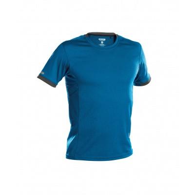 Dassy t-shirt NEXUS | 710025 | azuurblauw/antracietgrijs
