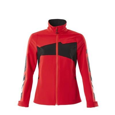 Mascot 18008-511-20209 jack (ongevoerd), dames, stretch, lichtgewicht signaal rood/zwart