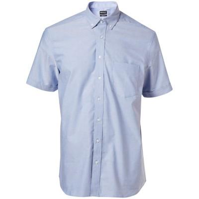 Foto van Overhemd Oxford, ruime pasvorm, k. mouwe | 50628-988 | 071-lichtblauw