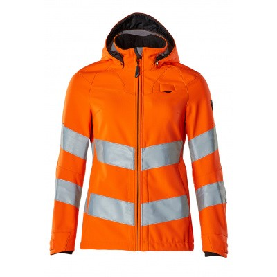Softshell jack, damesmodel, EN20471 | 18512-246 | 014-hi-vis oranje