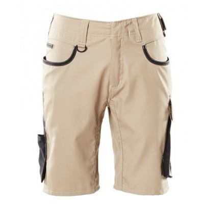 Foto van Shorts, lichtgewicht | 18349-230 | 05509-lichtkhaki/zwart