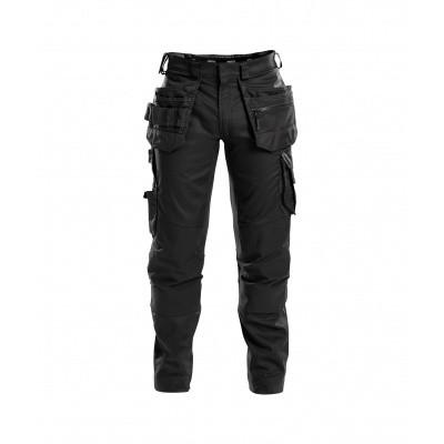 Foto van Dassy stretch broek FLUX | 200975 | zwart