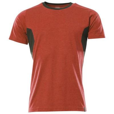 Foto van Mascot 18392-959 T-shirt signaal rood/zwart